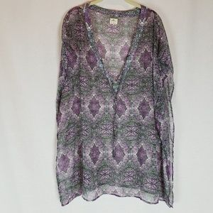 O'Neill Sheer Cover Up Top Size Small NWOT
